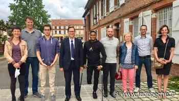 Le maire de Cugnaux rencontre Ugo Didier et Dimitri Pavadé - ladepeche.fr