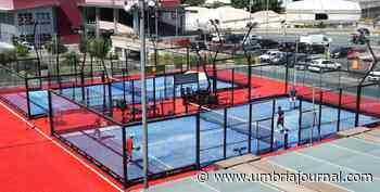 Corciano, inaugurati ufficialmente i campi da padel al Quasar Village Sport - Umbria Journal il sito degli umbri