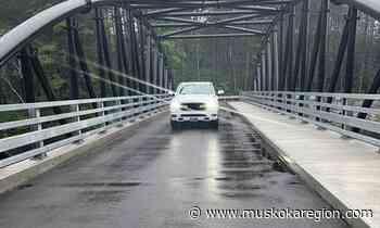 WHAT'S GOING ON HERE?: Driving across the Black Bridge in Bracebridge - Muskoka Region News