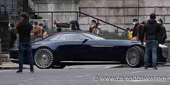 ¿Nuevo batmobile? Se filtra un Mercedes-Maybach Vision 6 en el rodaje de The Flash - caranddriver.es