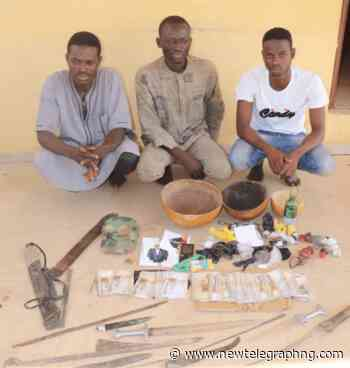 Police arrest 3 kidnappers in Minna, as 9 years old boy escapes - New Telegraph Newspaper
