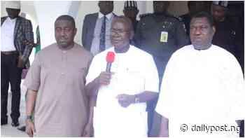 Insecurity: Ortom, Akume, Suswam meet in Makurdi - Daily Post Nigeria