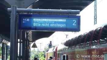 Deutsche Bahn RE1: Nachts verkehren zwischen Erkner, Fürstenwalde und Frankfurt (Oder) Busse statt Bahnen - moz.de