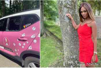 """Wagen van Miss België gevandaliseerd in Hechtel-Eksel: """"Avond ervoor nog gezegd dat ik er bang voor was"""" - Het Belang van Limburg"""
