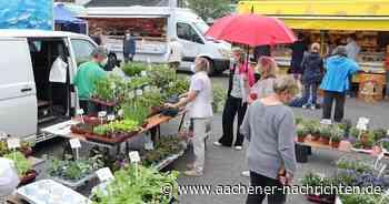 Wie der Wochenmarkt nach Aachen-Walheim kam - Aachener Nachrichten