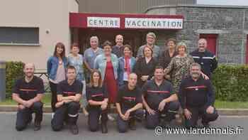 Le centre de vaccination d'Aubrives s'est ouvert aux pompiers - L'Ardennais