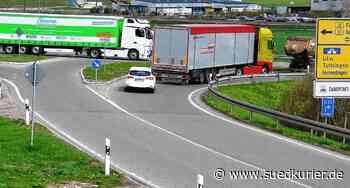 Geisingen: Arbeiten beginnen: Gefährliche Kreuzung zwischen L185 und B31 soll durch Kreisverkehr sicherer werden - SÜDKURIER Online