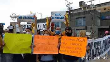 Portuguesa   Vecinos de Acarigua-Araure realizan pancartazo por fallas de los servicios básicos - El Pitazo