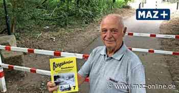 Auf den Spuren der vergessenen Bahnstrecke in Borgsdorf und Birkenwerder - Märkische Allgemeine Zeitung