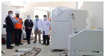 Llega planta de oxígeno medicinal a provincia de Otuzco - Diario Correo