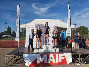 Coulommiers : Laurence Capredon vice-championne de France de laser run - actu.fr