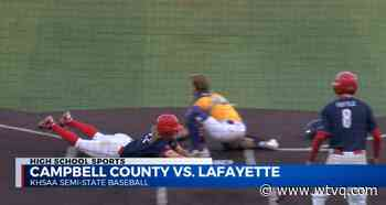 Lafayette, Danville baseball teams advance in KHSAA State Baseball Tournament - ABC 36 News - WTVQ