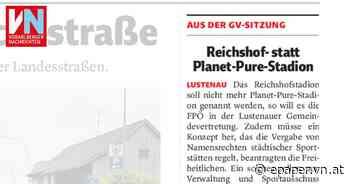 Reichshof- statt Planet-Pure-Stadion - Vorarlberger Nachrichten | VN.AT