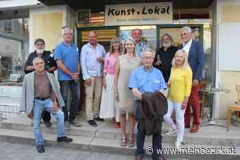 Künstler engagierten sich für das Umweltthema: Das Thema Lobau im Kunst.Lokal - meinbezirk.at