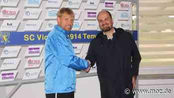 Fußball Landesklasse Nord: Bei Victoria Templin übernimmt nun doch ein ganz anderer das Ruder - moz.de