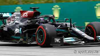 Formel 1 News: Lewis Hamilton mit Bestzeit - Verstappen Dritter - Sky Sport