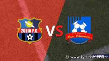 Termina el primer tiempo con una victoria para Zulia vs Hermanos Colmenarez por 1 - 0 - TyC Sports