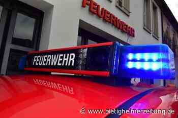 13 Bewohner mussten in Sachsenheim ihre Wohnungen verlassen: Brand in Garage – Haus evakuiert - Bietigheimer Zeitung