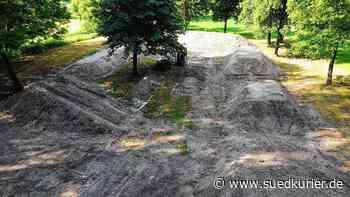 Hier entsteht der Dirt Track | SÜDKURIER Online - SÜDKURIER Online