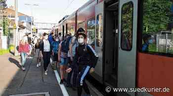 Hauptsache, der Zug kommt pünktlich: Auf der Chaos-Strecke Singen – ... | SÜDKURIER Online - SÜDKURIER Online