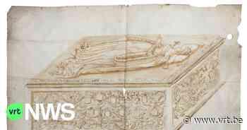 Inkttekening van graf Maria van Bourgondië uit museum Ieper opgenomen in Vlaamse topstukkenlijst - VRT NWS