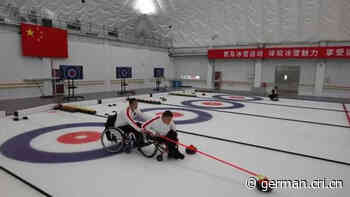 Sporthalle für Curling und Eishockey für Beijinger paralympische Winterspiele in Betrieb genommen - Radio China International