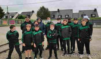 Chartres-de-Bretagne. L'école de pétanque chartraine brille au tournoi national - maville.com