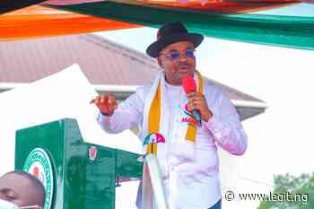 Udom Emmanuel Preaches Unity As Akwa Ibom PDP Caucus Meets in Uyo ▷ Legit.ng - Legit.ng