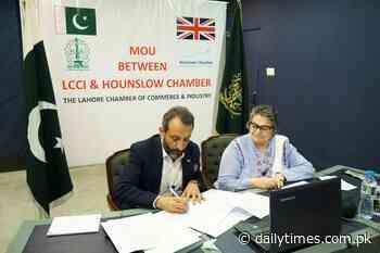 LCCI & Hounslow Chamber ink MOU - Daily Times