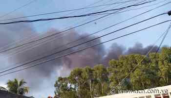 Quema de desechos en vertedero de Guacara afecta a la población - ACN ( Agencia Carabobeña de Noticias)