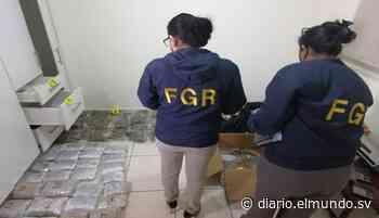 Desmantelan laboratorio en el que procesaban droga en San Juan Opico - Diario El Mundo