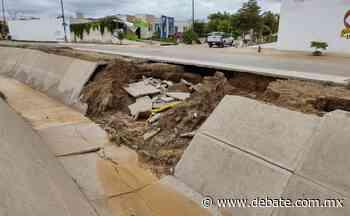 Vecinos temen derrumbe del canal en Pradera 6 en Mazatlán por malas condiciones - Debate