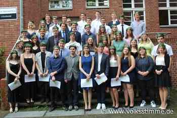44 Gymnasiasten aus Weferlingen starten jetzt durch - Volksstimme