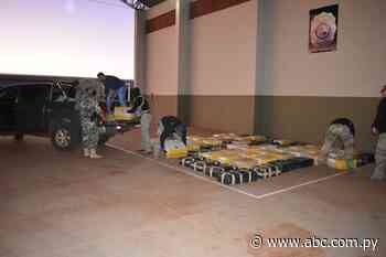 Incautan cargamento de más de 7 toneladas de marihuana en Capitán Bado - Nacionales - ABC Color