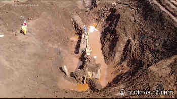 Bombeiros encontram locomotiva arrastada pela avalanche de lama em Brumadinho (MG) - HORA 7