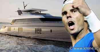 5-Mio.-Schmuckstück - Rafael Nadal: Luxusjacht statt heiliger Rasen - Krone.at