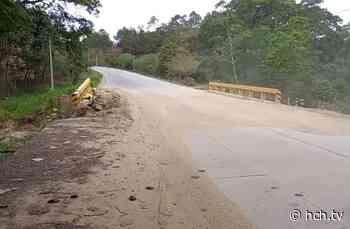 Exigen reconstrucción de importante puente en Galeras, Lepaguare - hch.tv
