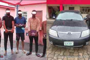 EFCC Arrest Six Alleged Fraudsters In Port Harcourt (PHOTOS) - GH Gossip