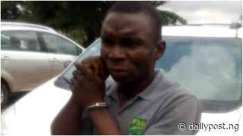 Oyo Police arrest suspected kidnapper who abducted passengers en route Warri [PHOTOS] - Daily Post Nigeria