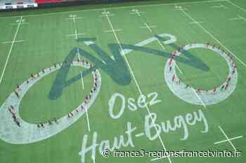 Tour de France : les jeunes rugbymen d'Oyonnax auront tout donné pour passer sur France 2 ! - France 3 Régions