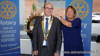 Éric Henrelle est le nouveau président du Rotary club de Fourmies-Hirson-Vervins - L'Aisne Nouvelle