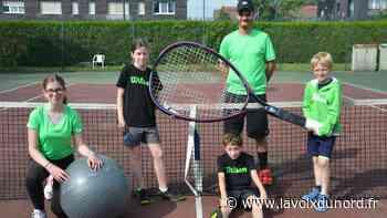 Halluin : Opération portes ouvertes au tennis-club - La Voix du Nord