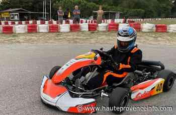 Manosque : l'heure des premières courses en karting pour Grégoire Merly-Alpa - Haute-Provence Info