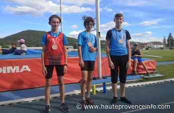 Athlétisme : les jeunes de l'EP Manosque performent - Haute-Provence Info