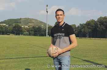 Manosque : le rugbyman Benjamin Debetz prêt à rebondir - Haute-Provence Info