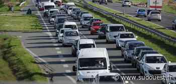 Gironde : accident sur l'A10 à Carbon-Blanc entre un deux-roues et une voiture - Sud Ouest