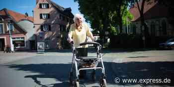 NRW: 97-Jährige aus Nottuln macht Spendenlauf mit Rollator - Express.de