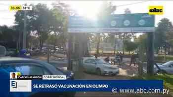 Se retrasó vacunación en Fuerte Olimpo porque no llegaron las vacunas - ABC Noticias - ABC Color
