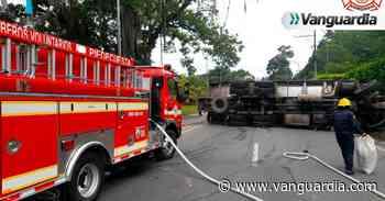 Accidente en la vía Piedecuesta-Bucaramanga mantiene la vía congestionada - Vanguardia