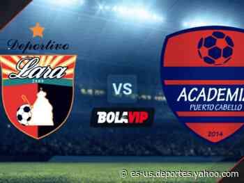 Qué canal transmite Deportivo Lara vs. Academia Puerto Cabello por la Liga Futve - Yahoo Deportes